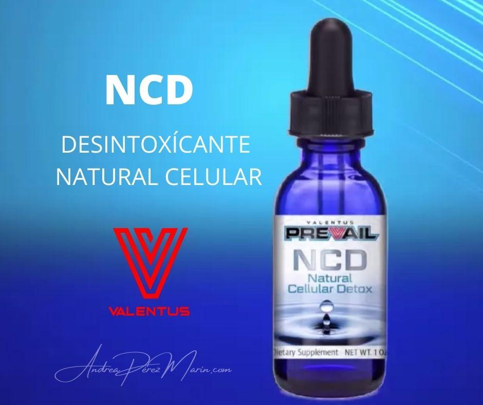 NCD DETOX CELULAR VALENTUS