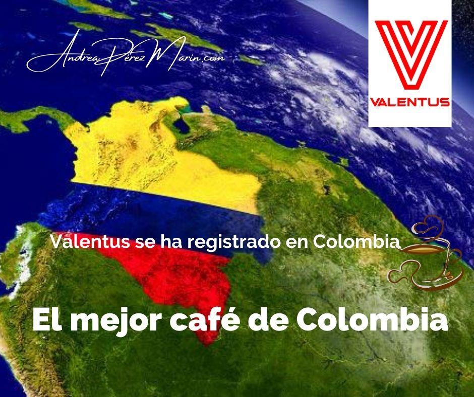 VALENTUS REGISTRADO EN COLOMBIA